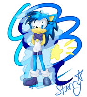 s t a r r y different outfit by SonicStaryFan