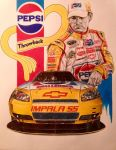 Jeff Gordon Pepsi Throwback 2009 Aarons 499 by JonOwens