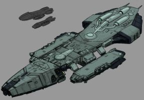 Battlestar Atlantia by Norsehound