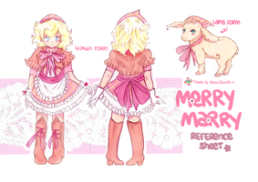 Merry Marry ref sheet commission by Cipple