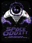 Space Oddity on the move by TheMonsterfink