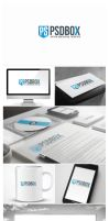 PSDBOX Logo Design Second by vasiligfx