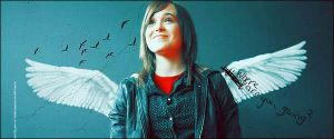 Ellen Page banner by LaLaShivers