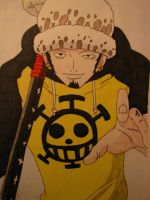Trafalgar Law by Vero-desu