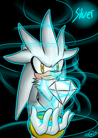 Silver the Hedgehog by AnglaisRose