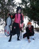 PAIN and Madara - Cosplay by C0staUchiha
