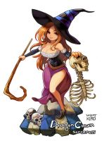 Sorcery in dragon crown by xiro3003