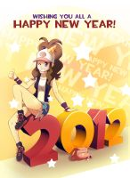 Happy New Year 2012 by dmy-gfx