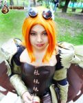 hawkgirl steampunk by METARNES