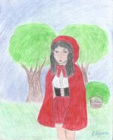 Little Red Riding Hood by eilujenna