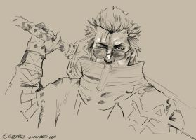 FFX - Auron by superfizz