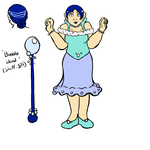 Magical Girl Bubble Queen by ParzifalsJudgment