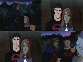 Miss martian and superboy ep13 by rocky-road123