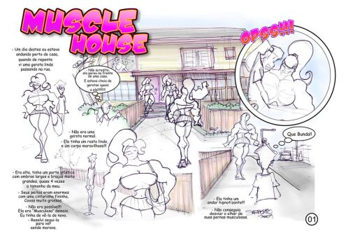 muscle girl house 001 by MUS1969