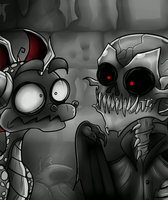 SPAIROH MEETS THE DEATHBAT by A7XSparx