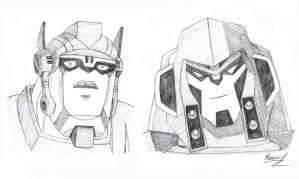 TFA OP and Megatron by PDJ004