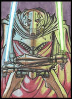 Grievous: I will not bow by PurpleRAGE9205