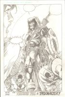 Taskmaster commission - Pencil by i3i11theWi11