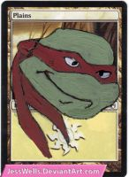 Altered Magic Card: TMNT by JessWells