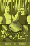 Wrestlemania X-7 Poster by gordonholmes