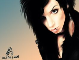 Andy Biersack 2 by dzsofi
