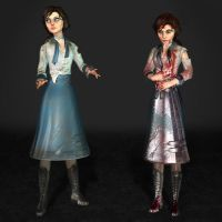 BioShock Infinite Elizabeth Student Damaged by ArmachamCorp