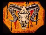 Ram Skull by Vicki-Death