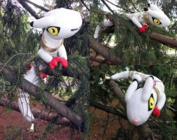 Kudamon custom plush by Kitamon
