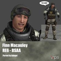 Finn Macauley RE6 BSAA by Adngel