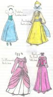 Beautiful Princesses Dress 2 by Soniclifetime