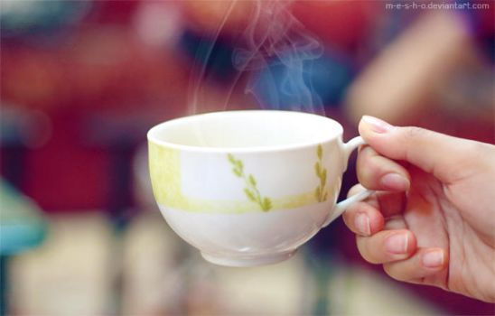 cup of tea by M-E-S-H-O