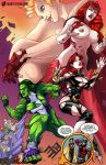 Giantess Avengers by giantess-fan-comics