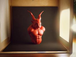 Light box demon by zuliban