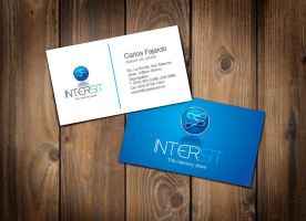 Intersit Business card by 16F