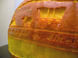 Oregon Trail Pumpkin Detail by ceemdee