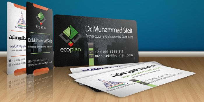 Eco-Plan Business Card by Visionadv
