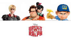 Wreck-It Ralph Protagonists Wallpaper - 720p by EnzeruAnimeFan