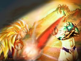 Vegetto Vegito +Majin Freecell by vegetto-vegito