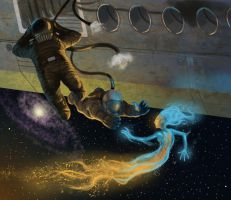 terror of the space mermaids by scuttered