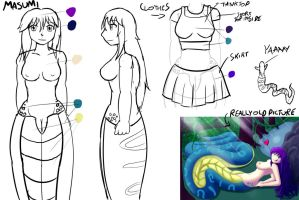 Masumi Character Reference Wip by Macdaddyv