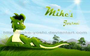 Mike's Journal Header by Mike-Dragon