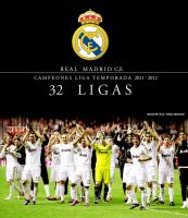 Blend Real Madrid Campeones Liga Temp. 2011-2012 by shad-designs