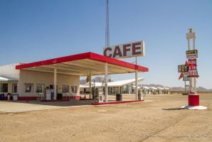 Route 66 Roy's Cafe by Mac-Wiz