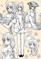 Sketch Page: keetascollection by NoShio