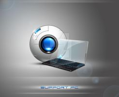 Suport-laptop by zcramo