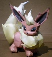 Flareon by jewzeepapercraft