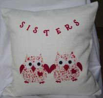 Sister Owls by JustCraftIdeas