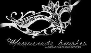 Masquerade brushes - AS for GD. by AndreeaS-Ainwen