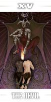Tarot Series The Devil by casimir0304