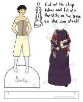 classwork: Ines paperdoll by Kaede-chama